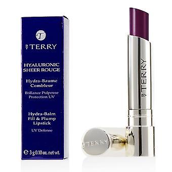 Hyaluronic sheer rouge hydra balm fill & plump lipstick (uv defense) # 15 grand cru 162990 3g/0.1oz