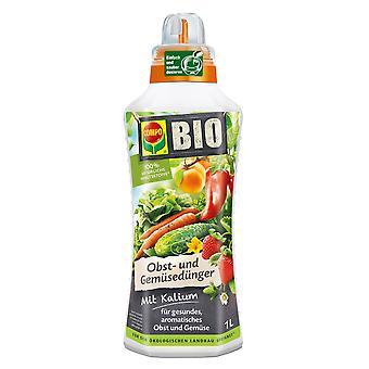 COMPO ORGANIC fruit and vegetable fertilizer, 1 litre