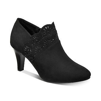 Karen Scott Womens Marana tecido Toe amêndoa tornozelo moda botas