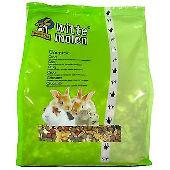 Witte Molen Country Croc 2 Kg Gr (New) (Small pets , Dry Food and Mixtures)