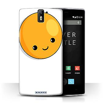 STUFF4 Case/Cover for OnePlus One/Fried Egg/Kawaii Food