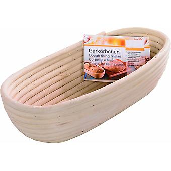 28 Cm Bread Basket  Small Size  28 X 13 Cm Traditional Rising Style  Bread Dough Proofing Rising Rattan Basket