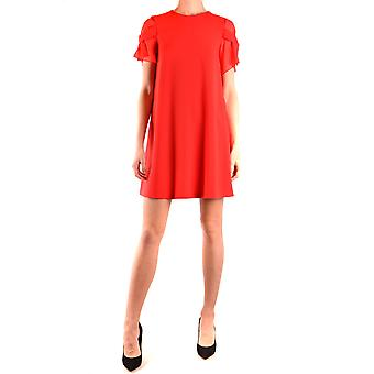 Boutique Moschino Ezbc1700022 Women's Red Polyester Dress
