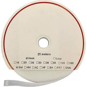 FASTECH® T010160000325 Gancho e laço fita stick-on (adesivo de derretimento quente) Almofada de loop (L x W) 25000 mm x 16 mm Branco 25 m