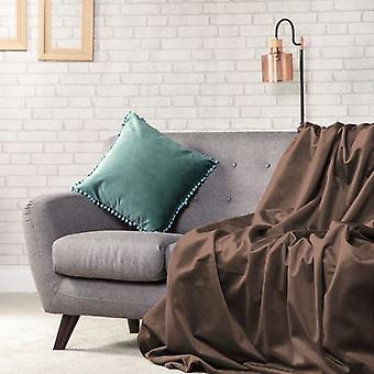 Peluche de felpa terciopelo 135x240 suave tiro sobre sofá protector cama cubierta extendida