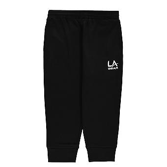 LA Gear Girls 3/4 length jogging bottoms junior girls