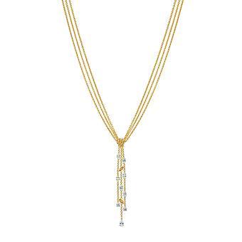 COLLIER Swarovski 5535779 - M tal Halskette Gold Mini Cha nes Frauen