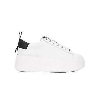 Ash Moon007 Women's White Leather Sneakers