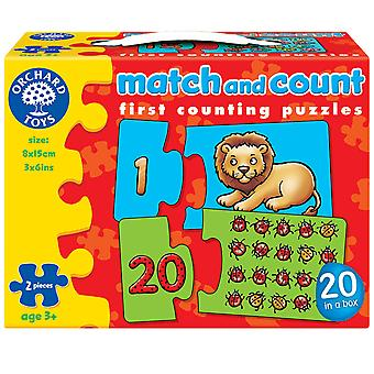 Match And Count Puzzles