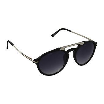 Zonnebrillen Dames Ovaal Zonnebril - Zilver/Zwart1709_6