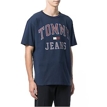 Tee Shirt Cotton Logo 90-apos;s - Tommy Jeans