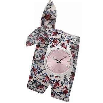 Horloge Zadig & Voltaire ZVF401 - bloemrijke Armband dial roze vrouw