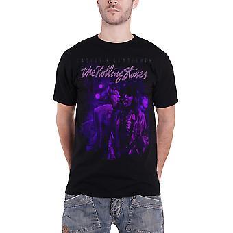 Rolling Stones T skjorte Mick og Keith Together nye offisielle Mens svart