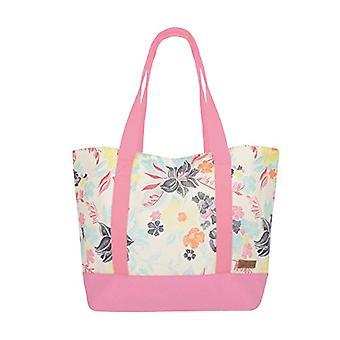 Urban Beach Rope Handle Bag Borsa da spiaggia 55 cm Rosa (Pink)