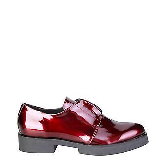 Ana Lublin Leena Donne Rosso Piatto scarpe -- LEEN696432