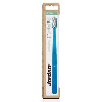 Toothbrush Green Clean Medium Jordan