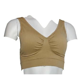 Unbranded Leisure Wire Free Support Camel Beige Bra
