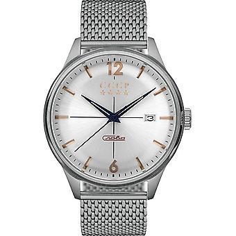 CCCP - Wristwatch - Herrren - GORKY - CP-7051-22 - White / Steel