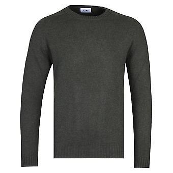 NN07 6212 Nathan Army Green Woollen Sweater