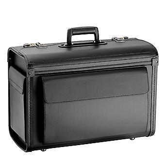 d&n Business & Travel Pilot Case 51 cm, Musta