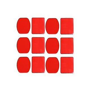 12 x VHB Adhesive Sticky Sticker Pads For GoPro 6 Flat + 6 Curved