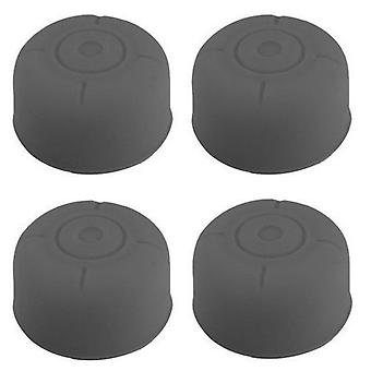 4x Rubber Stick Cover Thumb Grip Caps Analog Controller For Nintendo Switch[Grey]
