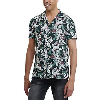 Funky Buddha Men's Shirt In Floral Print