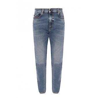 Diesel D-istort Light Wash Super Skinny Fit Jeans