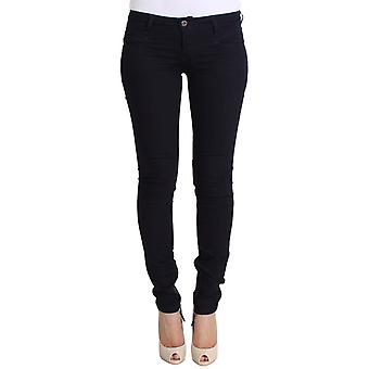Costume National Skinny Blue Cotton Stretch Slim Fit Jeans