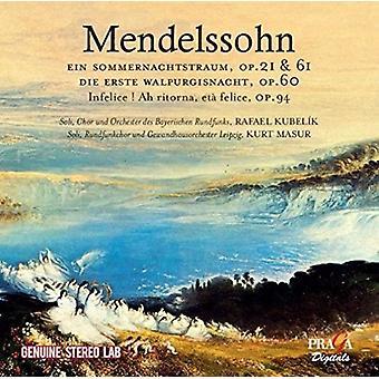 Various Artist - Mendelssohn: A Midsummer Night's Dream [CD] USA import