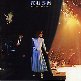 Rush - Exit Stage Left [CD] USA import