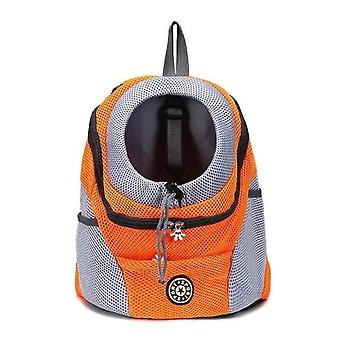 1 Pc Puppy Kitten Outdoor Backpack, Chest Bag Breathable