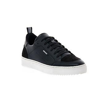Antony negro negro zapatillas bajas zapatillas de moda
