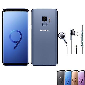 Samsung S9+ 4+64gb dual card blue smartphone Original