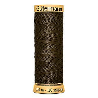 Gutermann 100% naturlig bomullstråd 100m hånd- og maskinfargekode - 2960
