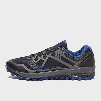 Saucony Men's PEREGRINE 8 GTX Trail Running Trainers Black/Blue