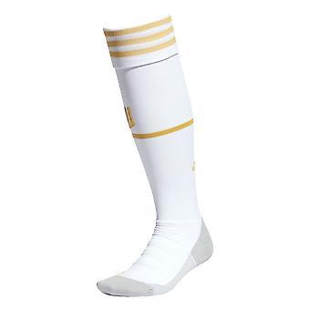أداس جوفنتوس 2020/21 هوم لكرة القدم الجوارب البيضاء