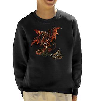 Alkymi Theotholax Draconis Kid ' s genser