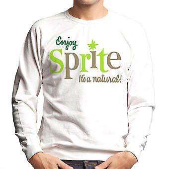 Genießen Sie Sprite 1960er Its A Natural Men es Sweatshirt
