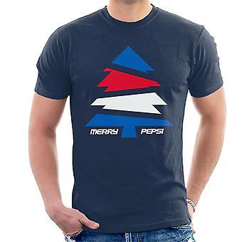 Pepsi Allery Albero di Natale Uomini's T-Shirt
