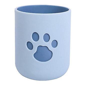 katten klo mønster tannbørste kopp
