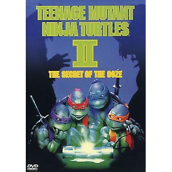 Teenage Mutant Ninja Turtles 2: The Secret of the Ooze [DVD] USA import