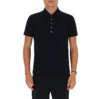 Thom Browne Mjp110a00050415 Heren's Blauw Katoen polo shirt