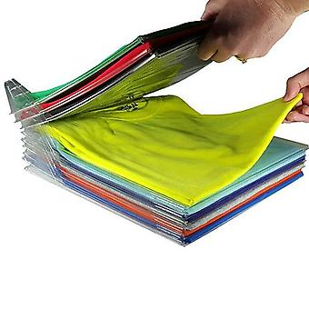 Reusable Household Fast Magical Clothes Fold Board Folder - Closet/wardrobe