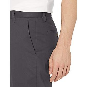Goodthreads Men's Athletic-Fit Wrinkle Free Dress Chino Pant, Grey, 31W x 34L