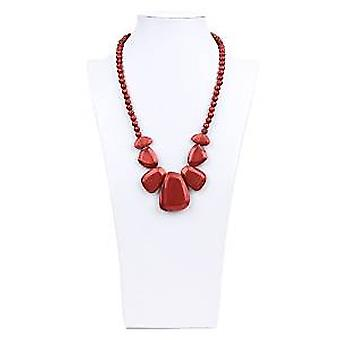 Rocca Silicone Teething Necklace - Bumkin - Ruby New SJR-RBY