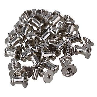20pcs 9.5*7.5mm B025 Silver Antique Door Pull Knob Handle