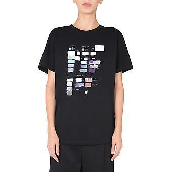 Mm6 Maison Margiela S32gc0579s23588900 Femmes-apos;s T-shirt en coton noir