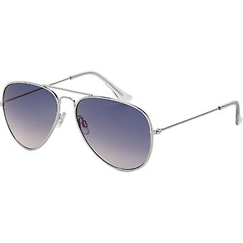 Sunglasses Unisex Icons Cat.2 silver/blue (1140)