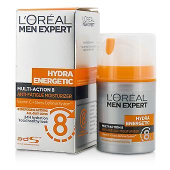Men expert hydra energetic multi action 8 anti fatigue moisturizer 204915 50ml/1.7oz
